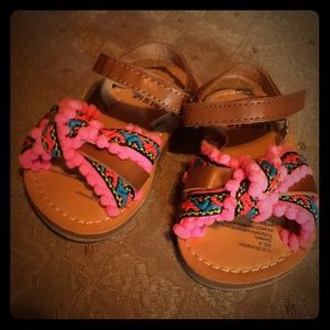 "8f21275a0 Baby Size 3 ""Aloha Island"" Sandals"